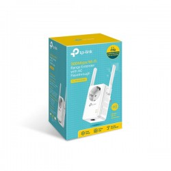 TP LINK WA860RE  300Mbps WiFi Range Extender w/AC Passthrough
